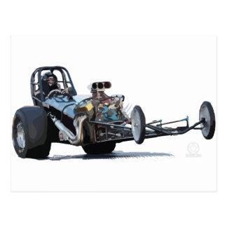 Drag Racing & Vintage Dragsters Postcard
