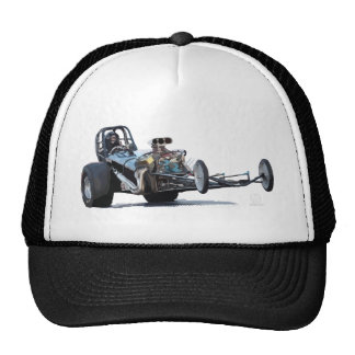 Drag Racing & Vintage Dragsters Trucker Hat