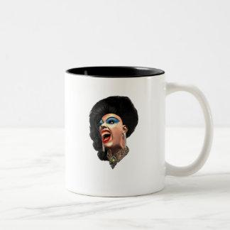Drag Two-Tone Coffee Mug