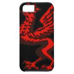 Dragão vermelho capa iPhone 5