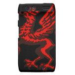 Dragão vermelho droid RAZR capas