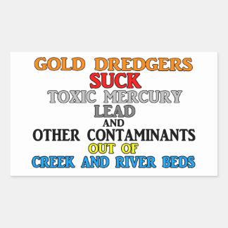 Dragas del oro rectangular altavoz