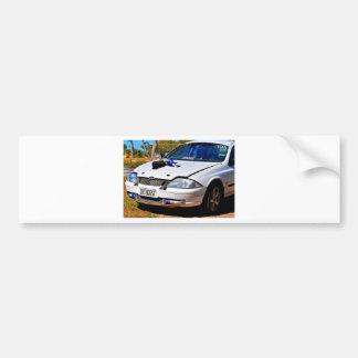 DRAGCAR RACING RURAL QUEENSLAND AUSTRALIA CAR BUMPER STICKER