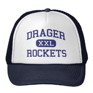Drager Rockets Middle School Adrian Michigan Trucker Hat