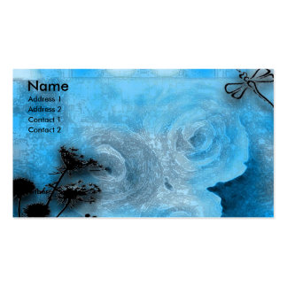 dragfly blues Double-Sided standard business cards (Pack of 100)