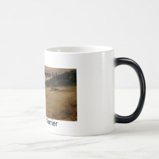 dragging_boat-edited, by Priscille Verrier, Fis... 11 Oz Magic Heat Color-Changing Coffee Mug