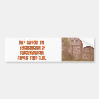 draggons denn 141, HELP SAPPORT THE RECONSTUCTI... Bumper Stickers