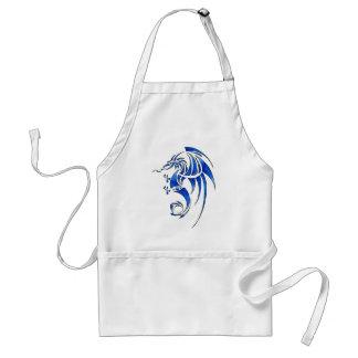 Dragissous V1 - blue dragon Adult Apron