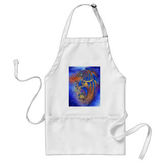 Dragissous V1 - blue dragon Adult Apron