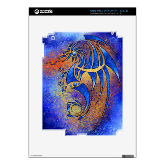 Dragissous V1 - blue dragon iPad 3 Skin