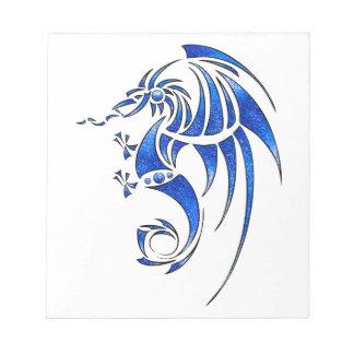 Dragissous V1 - blue dragon Notepad