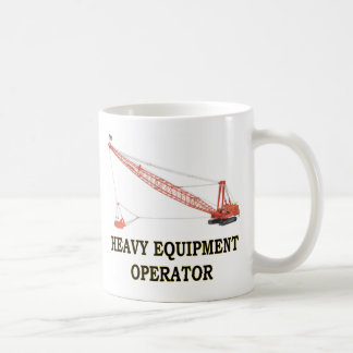 DRAGLINE COFFEE MUG