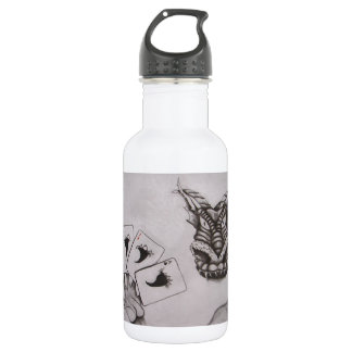 Dragn'ass Designs Four Aces Stainless Steel Water Bottle