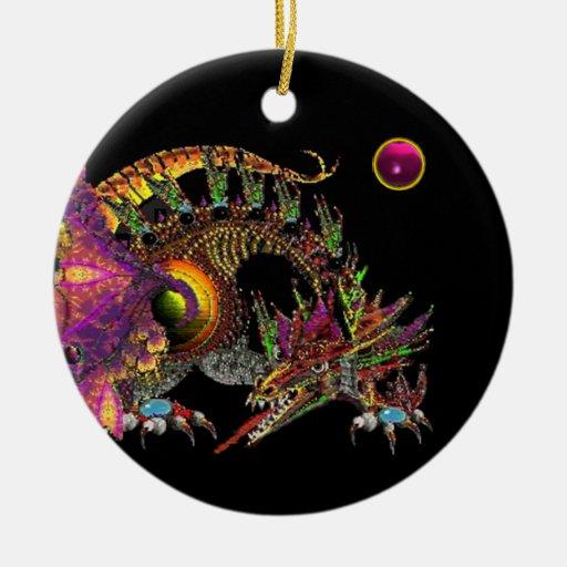 DRAGO Pink Amethyst Monogram Christmas Tree Ornament