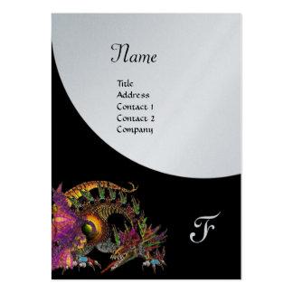 DRAGO, platino púrpura negro del monograma