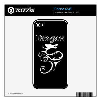 Dragon 02 skin for iPhone 4S