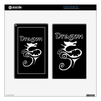 Dragon 02 skin for kindle fire