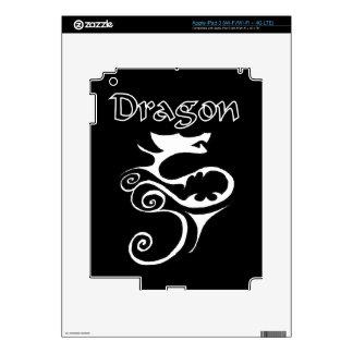 Dragon 02 skins for iPad 3