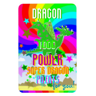 Dragon 1000 Power Super Dragon Points for You! Magnet