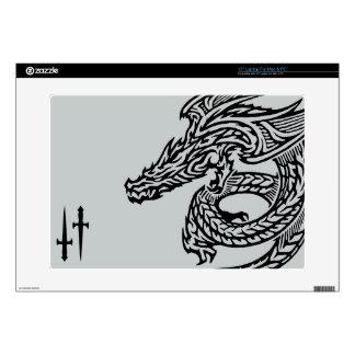 """Dragón 15"""" del ala ordenador portátil para el mac calcomanía para portátil"""