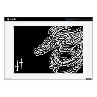 """Dragón 15"""" del ala ordenador portátil para el mac portátil skin"""