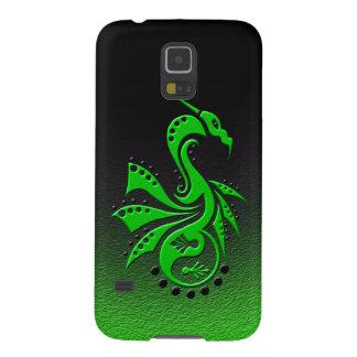 Dragon 1 Yin Yang green Case For Galaxy S5