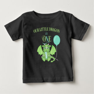 Dragon 1st Birthday Shirt