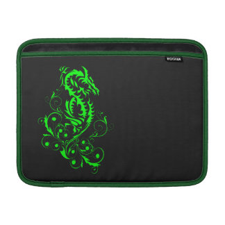 Dragon 20 green MacBook air sleeve