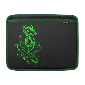 Dragon 20 green sleeve for MacBook air