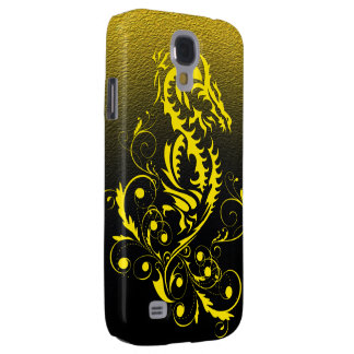 Dragon 20 yellow galaxy s4 cover