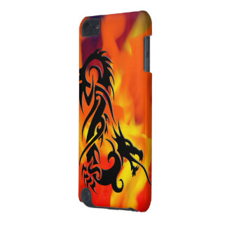 Dragon 2 black iPod touch (5th generation) cases