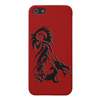 Dragon 2 black cover for iPhone SE/5/5s