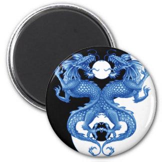 Dragón 2 de Yin Yang Imanes Para Frigoríficos