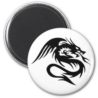 Dragon 2 Inch Round Magnet