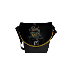 Dragon 2 Mini-messenger Bag at Zazzle
