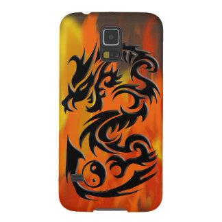 Dragon 2 yin yang galaxy s5 cover