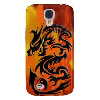 Dragon 2 yin yang samsung galaxy s4 case