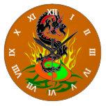 Dragón 31 relojes de pared