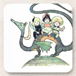Dragon 3 Bold Babes Beverage Coaster