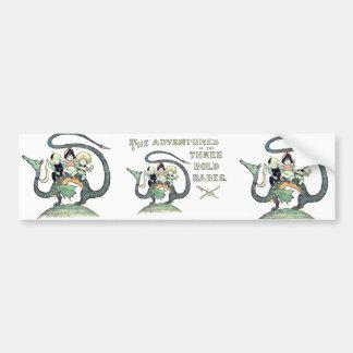 Dragon 3 Bold Babes Bumper Sticker