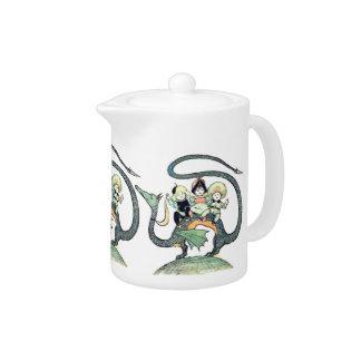 Dragon 3 Bold Babes Teapot