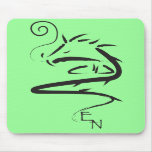 Dragón 3 del zen tapetes de ratón