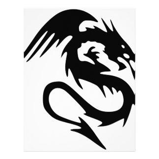 Dragón #3 plantillas de membrete