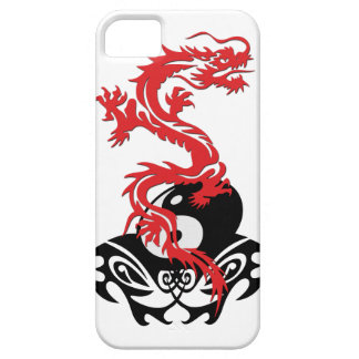 Dragon 40 yin yang iPhone SE/5/5s case