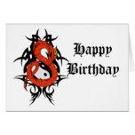 Dragon 41 yin yang cards