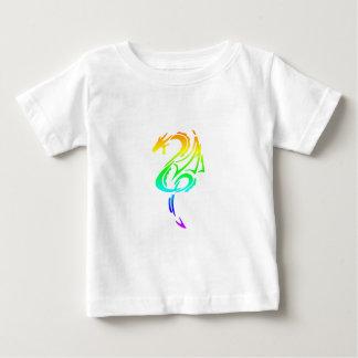 Dragón 5 del arco iris polera