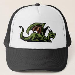 Dragon 8-bit Pixel Art Hat