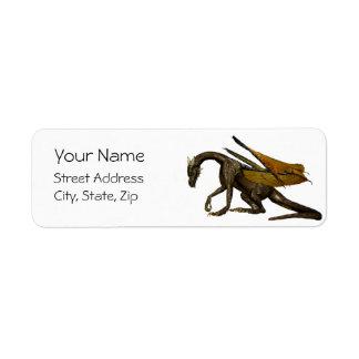Dragon Address Label