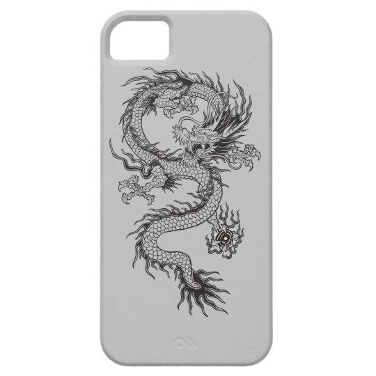 Dragón adornado funda para iPhone SE/5/5s
