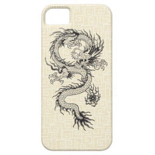 Dragón adornado iPhone 5 carcasas